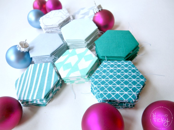 Christmas Hexagons | veni vidi vicky