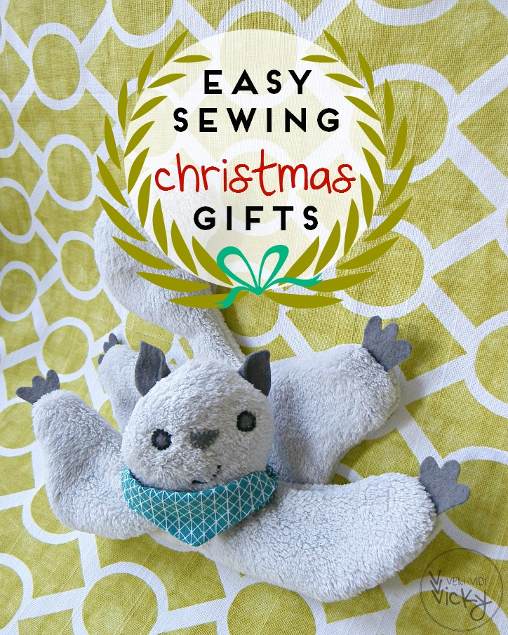 Easy sewing Christmas gifts | veni vidi vicky