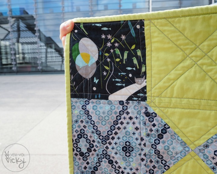 Wherever You Will Go - baby quilt - veni vidi vicky