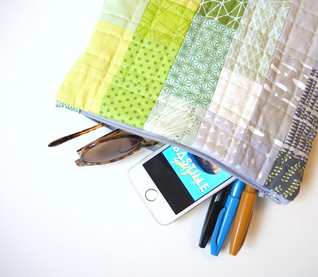 quilt / pouch match | veni vidi vicky
