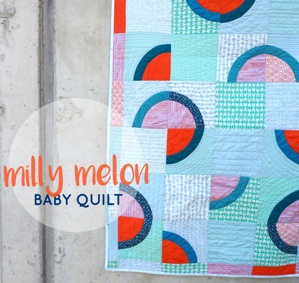 Milly Melon baby quilt | veni vidi vicky