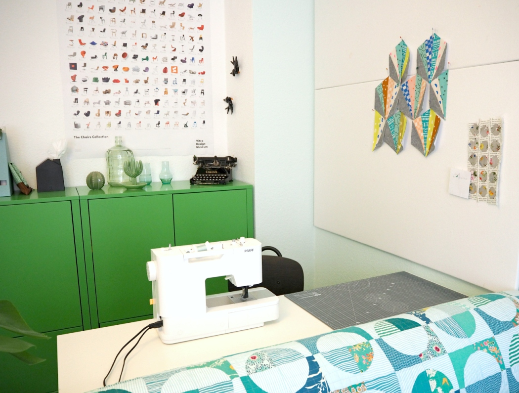 Fresh Sewing Space | veni vidi vicky